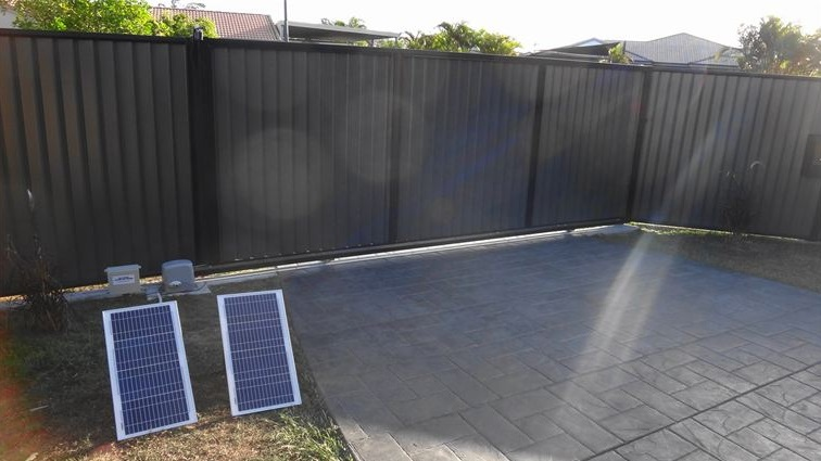 Gallery Solar Powered Electric Gates